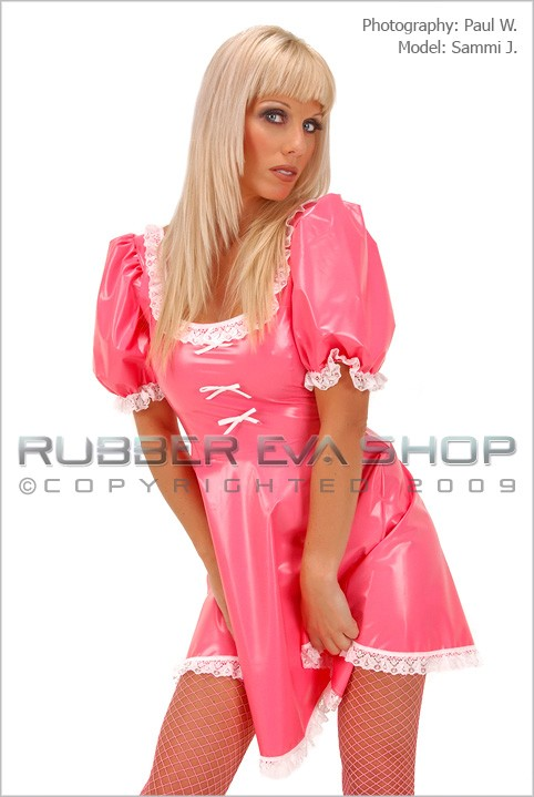 Sammi J - `Bo-Peep Outfit` - by Paul W for RUBBEREVA