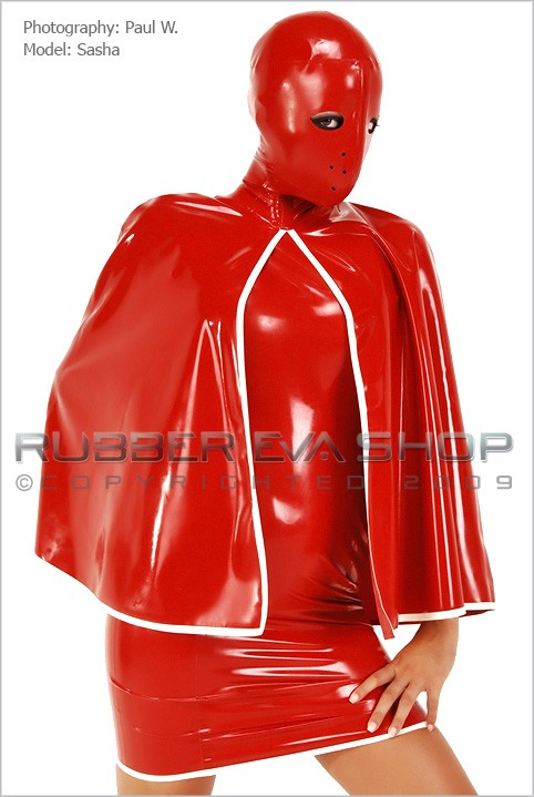 Sasha - `Heavy Rubber Nurse` - by Paul W for RUBBEREVA