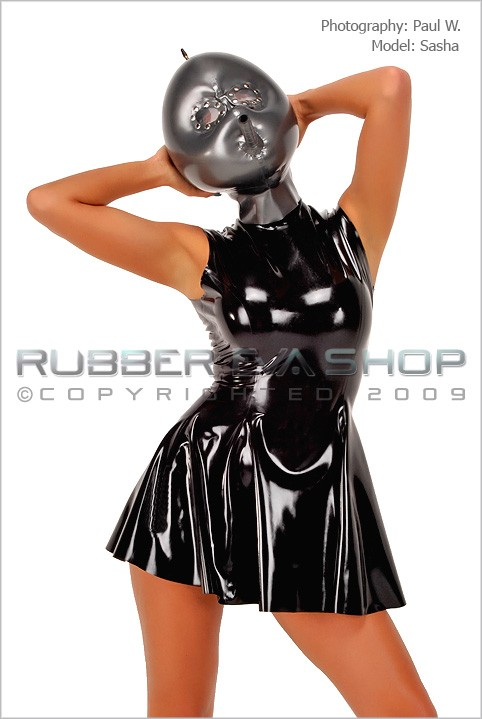 Sasha - `Inflatable With Studded Lens Eyes` - by Paul W for RUBBEREVA