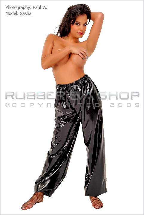 Sasha - `Jogging Bottoms` - by Paul W for RUBBEREVA
