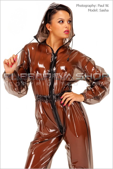 Sasha - `Mens Breathplay Jogging Suit` - by Paul W for RUBBEREVA