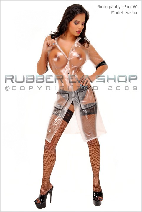 Sasha - `Plastic Nanny Outfit` - by Paul W for RUBBEREVA