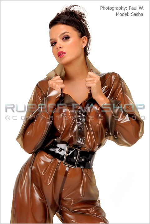 Sasha - `Rubber Boiler Suit` - by Paul W for RUBBEREVA