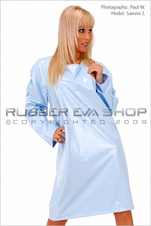 Sammi J - `Short Plastic Nightie` - by Paul W for RUBBEREVA