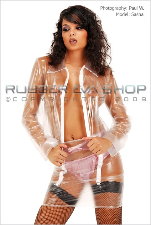 Sasha - `XXL Biker Jacket` - by Paul W for RUBBEREVA