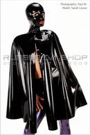 Sarah Louise - Hooded Rubber Cape