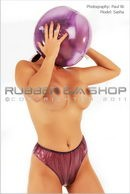 Inflatable Plastic Ball Hood