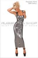 Lace Back Hobble Dress