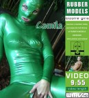 Camila - Green Rubber Animal