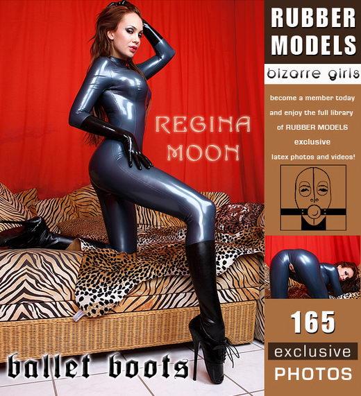 Regina Moon - `Ballet Boots` - for RUBBERMODELS