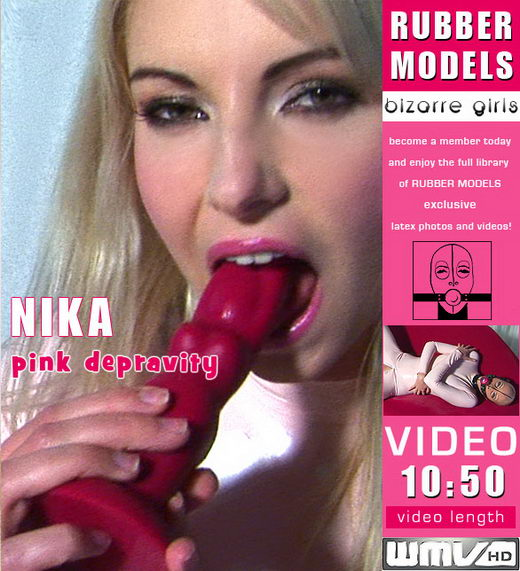 Nika - `Pink Depravity` - for RUBBERMODELS