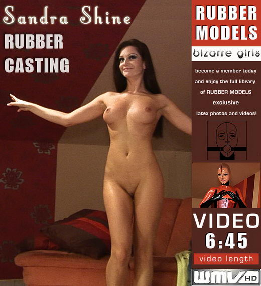 Sandra Shine - `Rubber Casting` - for RUBBERMODELS
