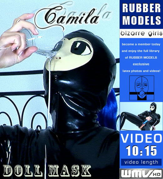 Camila - `Doll Mask` - for RUBBERMODELS