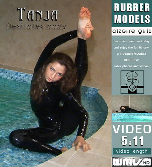 Tanja - `Flexi Latex Body` - for RUBBERMODELS