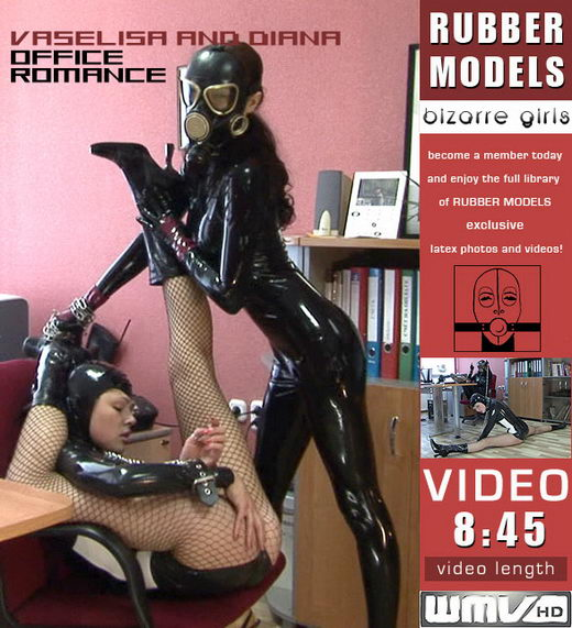 Vaselisa & Diana - `Office Romance` - for RUBBERMODELS