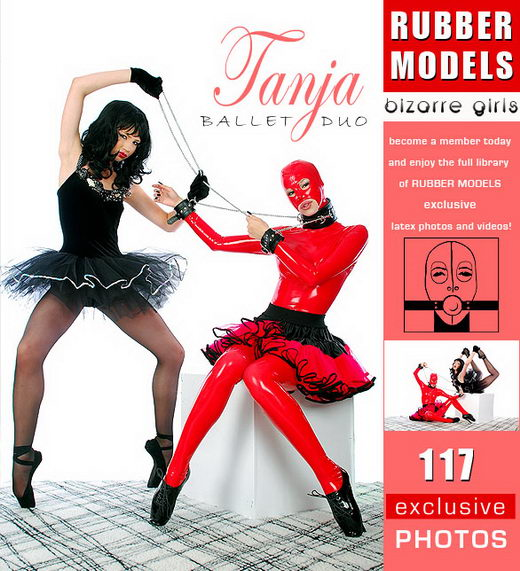 Tanja - `Ballet Duo` - for RUBBERMODELS