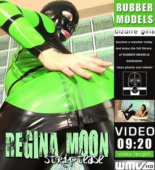 Regina Moon - `Striptease` - for RUBBERMODELS