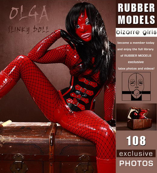 Olga - `Slinky Doll` - for RUBBERMODELS