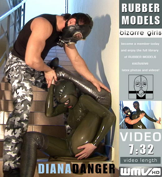 Diana - `Diana in Danger` - for RUBBERMODELS