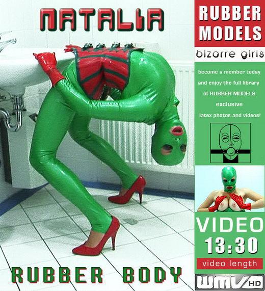 Natalia - `Rubber Body` - for RUBBERMODELS