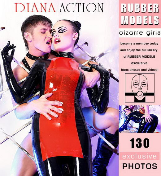 Diana - `Action` - for RUBBERMODELS