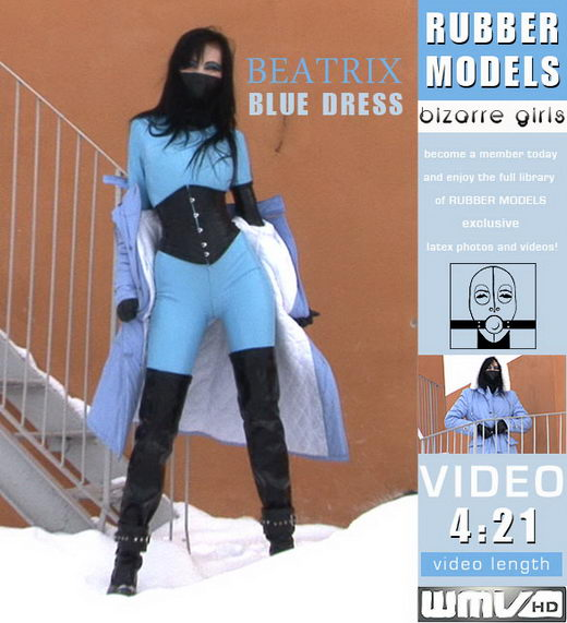 Beatrix - `Blue Dress` - for RUBBERMODELS