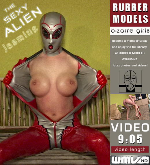 Jasmine - `The Sexy Alien` - for RUBBERMODELS