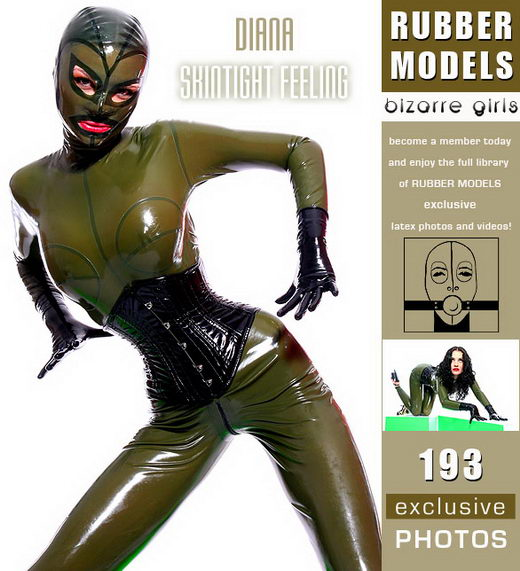 Diana - `Skintight Feeling` - for RUBBERMODELS