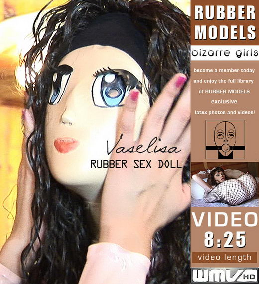 Vaselisa - `Rubber Sex Doll` - for RUBBERMODELS