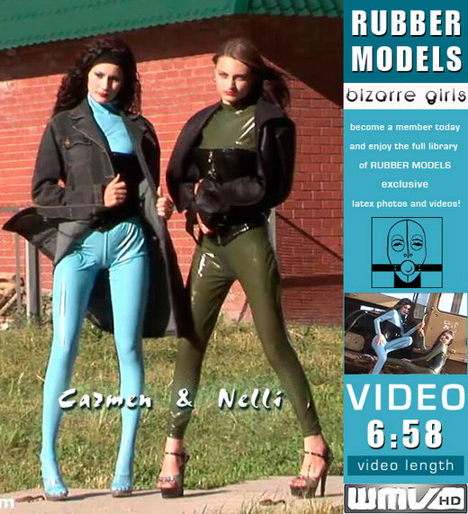 Carmen & Nelli - for RUBBERMODELS