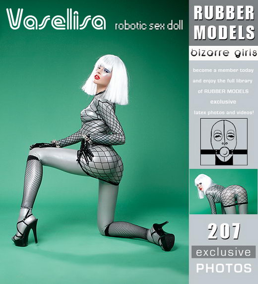 Vaselisa - `Robotic Sex Doll` - for RUBBERMODELS