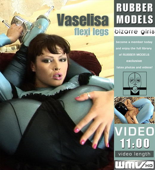 Vaselisa - `Flexi Legs` - for RUBBERMODELS