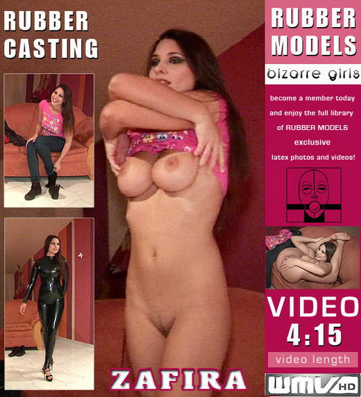 Zafira - `Rubber Casting` - for RUBBERMODELS