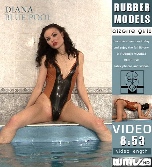 Diana - `Blue Pool` - for RUBBERMODELS