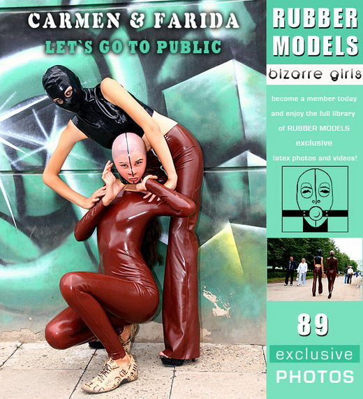 Carmen & Farida - `Let's Go Public` - for RUBBERMODELS