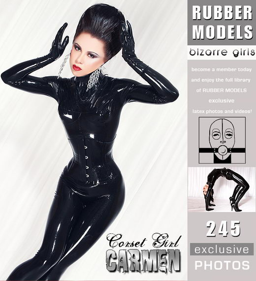 Carmen - `Corset Girl` - for RUBBERMODELS