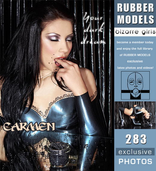 Carmen - `your dark dream` - for RUBBERMODELS