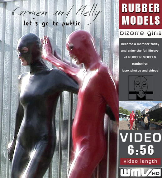 Carmen & Nelly - `let`s go to public` - for RUBBERMODELS