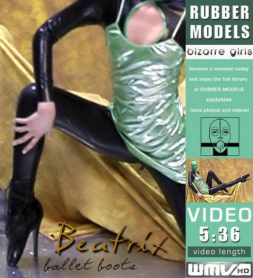Beatrix - `Ballet Boots` - for RUBBERMODELS