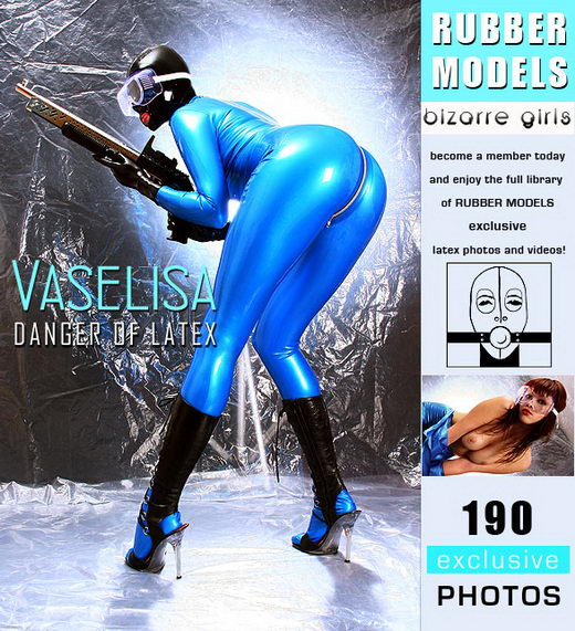 Vaselisa - `Danger in Latex` - for RUBBERMODELS