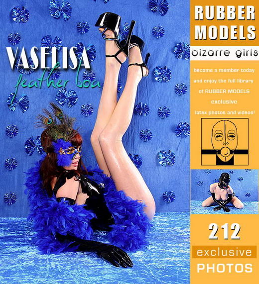 Vaselisa - `Feather Boa` - for RUBBERMODELS