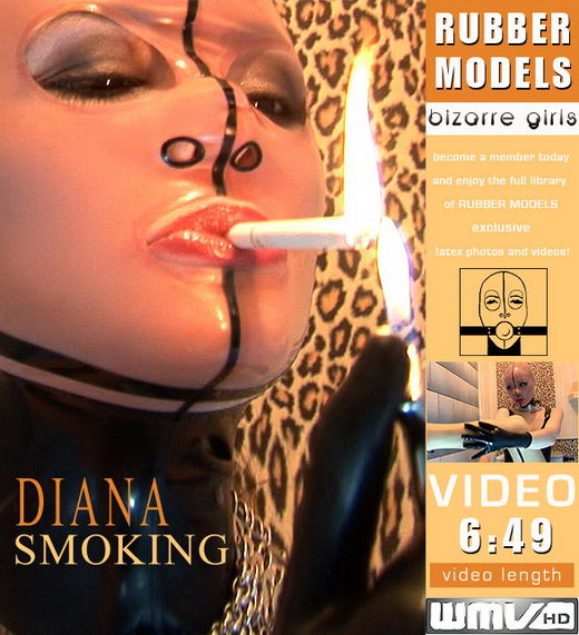 Diana - `Smoking` - for RUBBERMODELS