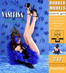 Vaselisa in Feather Boa gallery from RUBBERMODELS