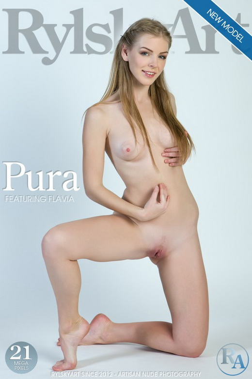 Flavia - `Pura` - by Rylsky for RYLSKY ART