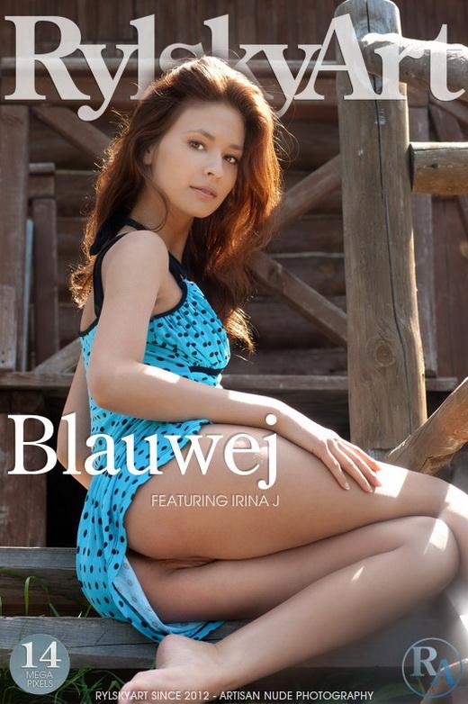Irina J - `Blauwej` - by Rylsky for RYLSKY ART