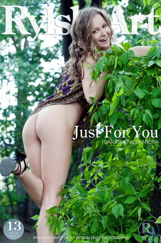 Alexandra - `Just For You` - by Rylsky for RYLSKY ART