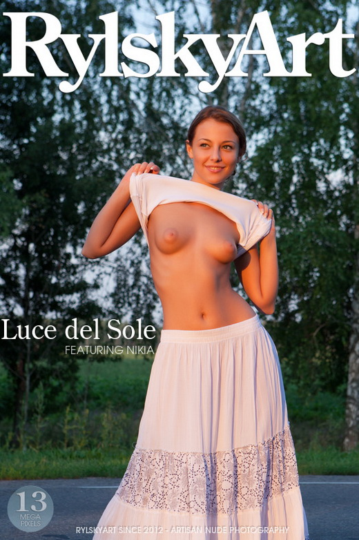 Nikia - `Luce del Sole` - by Rylsky for RYLSKY ART