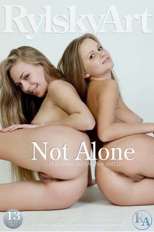 Alexandra & Liv - `Not Alone` - by Rylsky for RYLSKY ART