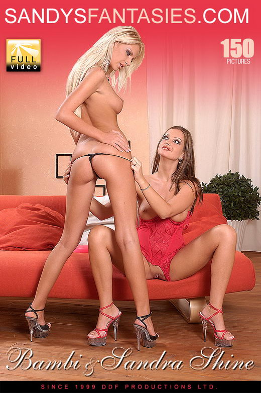 Sandra Shine & Bambi - `Bambis Bum Ala Carte` - for SANDYSFANTASIES
