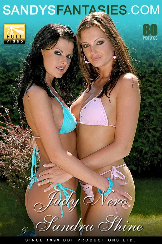 Sandra Shine & Judy Nero - `Cool Blue Prickin And Lickin` - for SANDYSFANTASIES